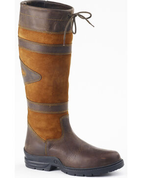 Ovation Women's Duncan Country Boots, Brown, hi-res
