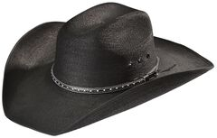 Bullhide Country Strong Palm Leaf Straw Cowboy Hat, , hi-res