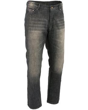 "Milwaukee Leather Men's Black 32"" Denim Jeans Reinforced With Aramid - XBig, Black, hi-res"