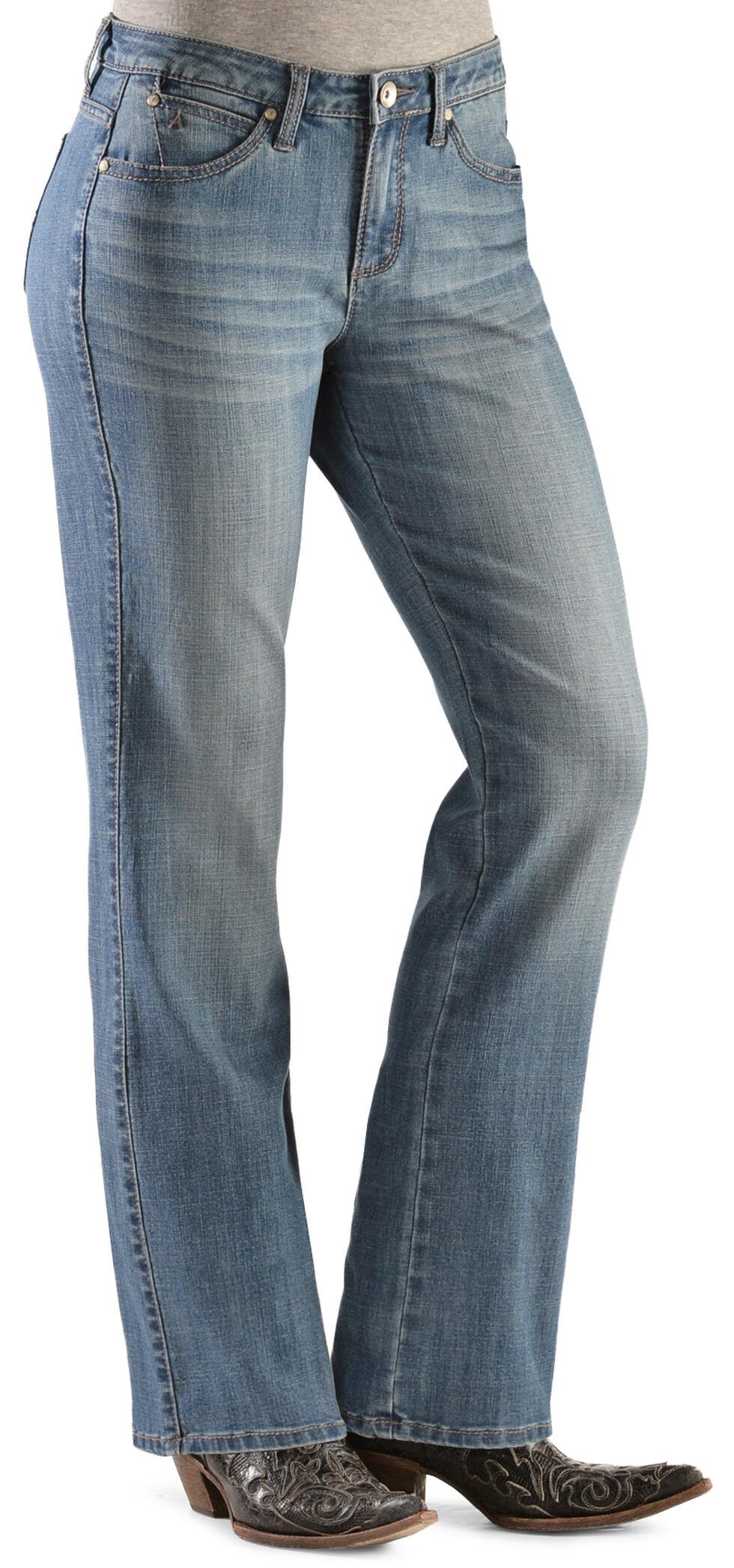 Wrangler Women's Antique Wash Aura Instantly Slimming Jeans, Denim, hi-res
