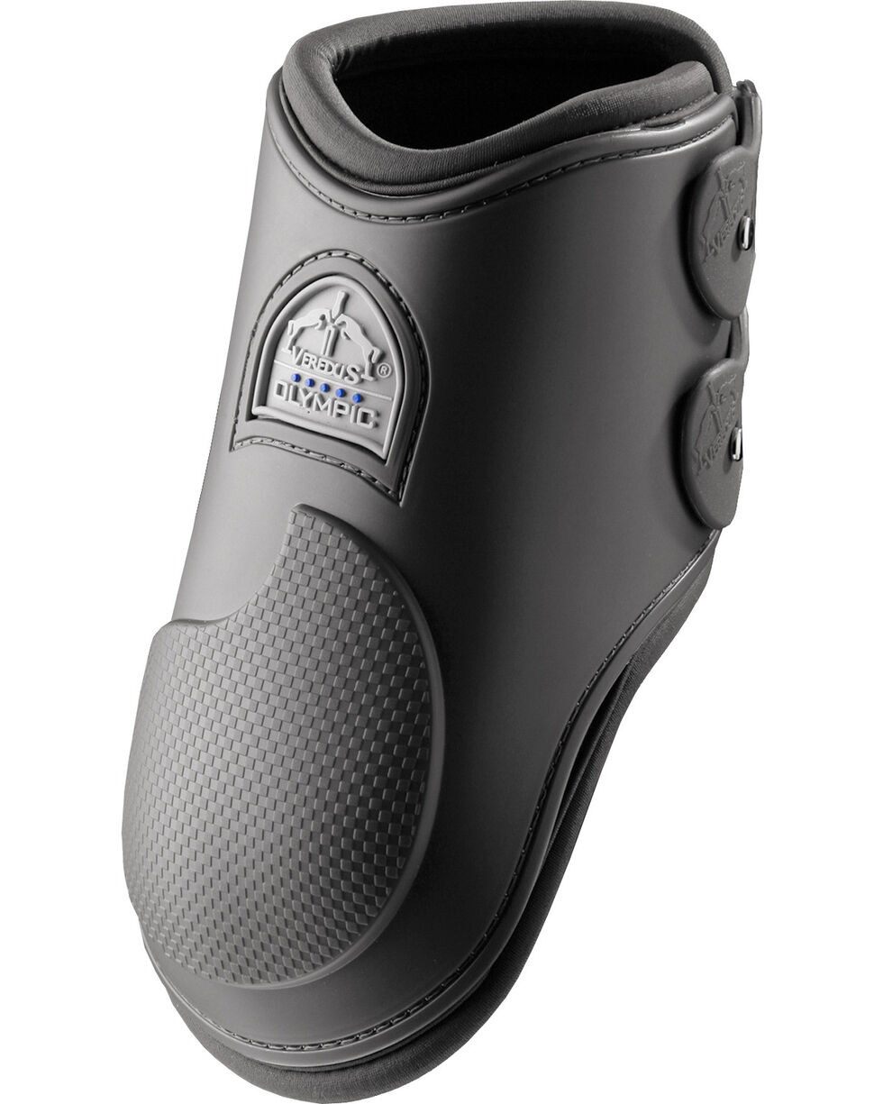 Veredus Olympus Black Rear Ankle Boots, Black, hi-res