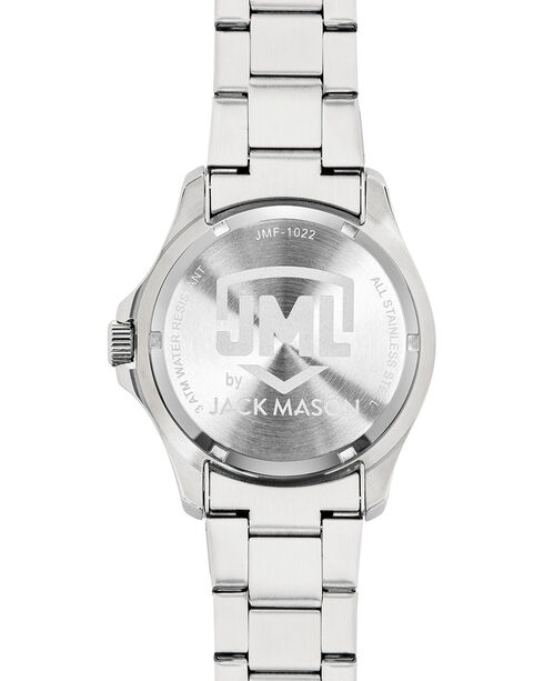 Jack Mason Men's Silver Dallas Multi-Function Watch , Silver, hi-res