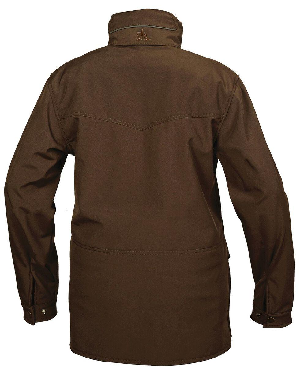 STS Ranchwear Men's Brazos Brown Jacket, Brown, hi-res