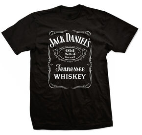 Jack Daniel's Men's Black Label T-shirt, Black, hi-res