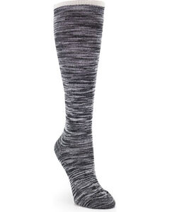 La De Da Women's Knee High Socks, Black, hi-res