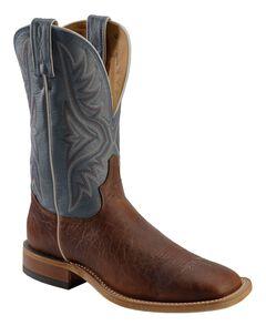 Tony Lama Americana Cowboy Boots - Square Toe, , hi-res