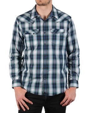 Cody James Men's Rockdale Long Sleeve Shirt - Big & Tall, Blue, hi-res