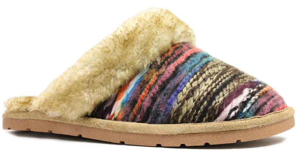 Lamo Footwear Women's Juarez Scuff Slippers, Chestnut, hi-res