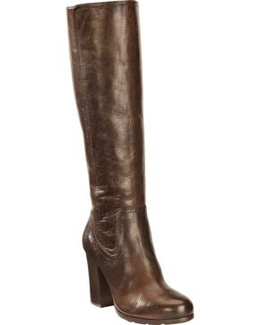 Frye Women's Parker Tall Boots, Dark Brown, hi-res