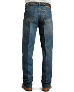 Stetson Standard Medium Stonewash Relaxed Fit Straight Leg Jeans - Big & Tall, , hi-res
