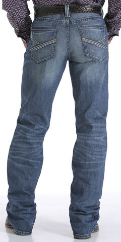 Cinch Men's Indigo Grant Mid-Rise Relaxed Performance Jeans - Boot Cut, , hi-res