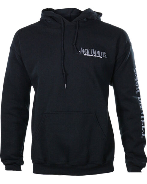 Jack Daniel's Men's Bottle Hoodie, Black, hi-res