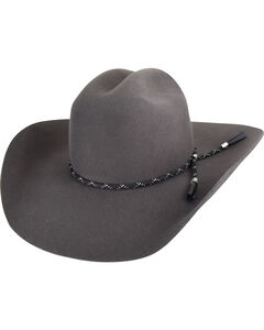 Bailey Men's Steel Western Zippo Cowboy Hat , Steel, hi-res