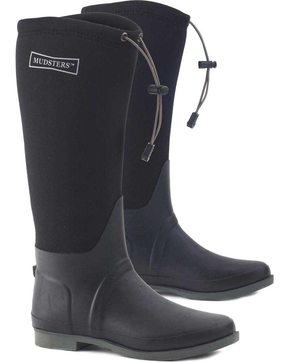 Ovation Women's Mudster Comfort Rider Boots - Round Toe, Black, hi-res