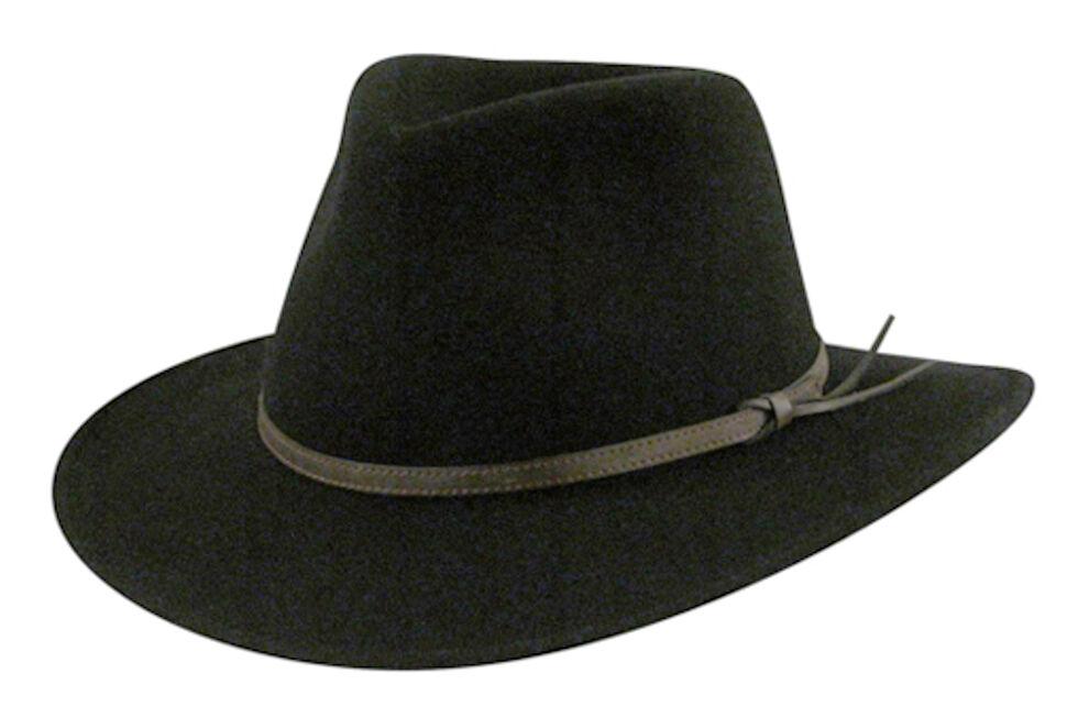 Country Gentleman Men's Outback Fedora, , hi-res