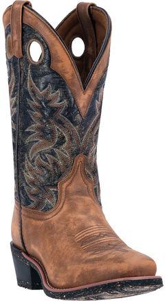 Laredo Stillwater Cowboy Boots - Square Toe , , hi-res