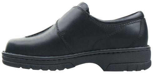 Eastland Women's Black Syracuse Slip-On Shoes , Black, hi-res
