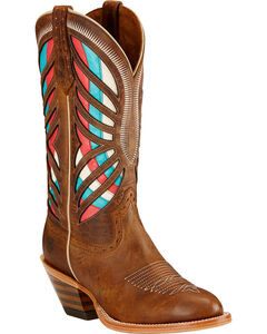 Ariat Gentry Performance Riding Boots - Round Toe , , hi-res