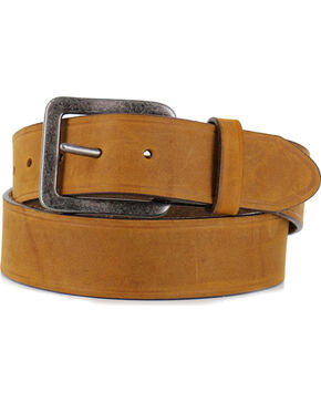 Chippewa Men's Logger Bark Leather Belt, Brown, hi-res