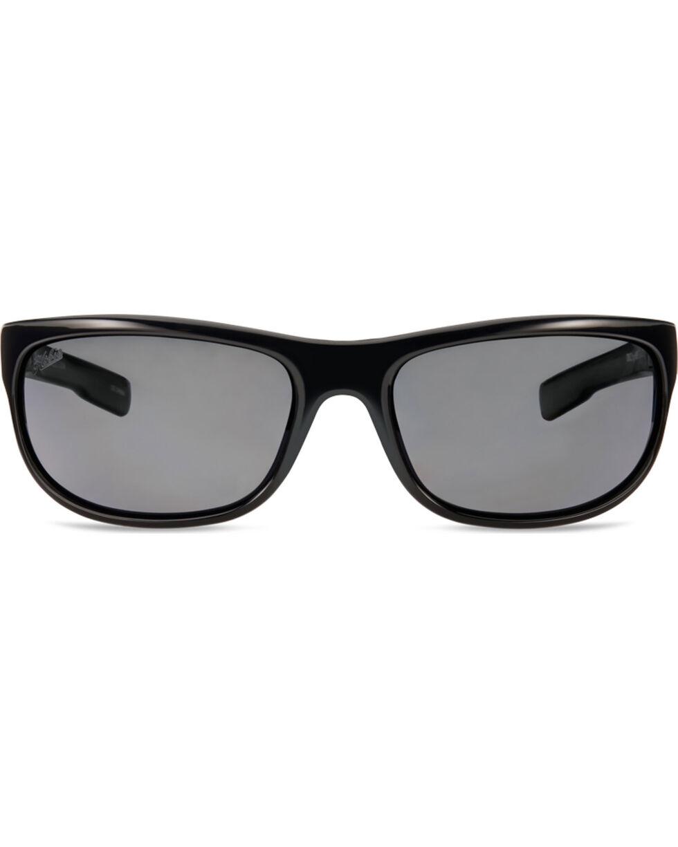 Hobie Men's Shiny Black Cruz Polarized Sunglasses , Black, hi-res
