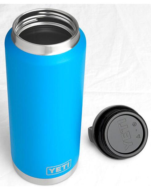 Yeti Tahoe Blue 36 oz. Bottle Rambler , Blue, hi-res