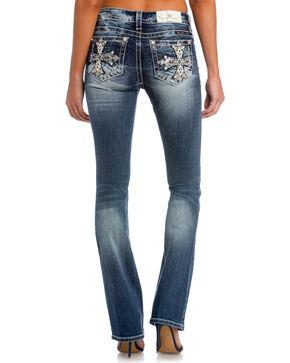 Miss Me Women's Main Stage Mid-Rise Slim Jeans, Indigo, hi-res