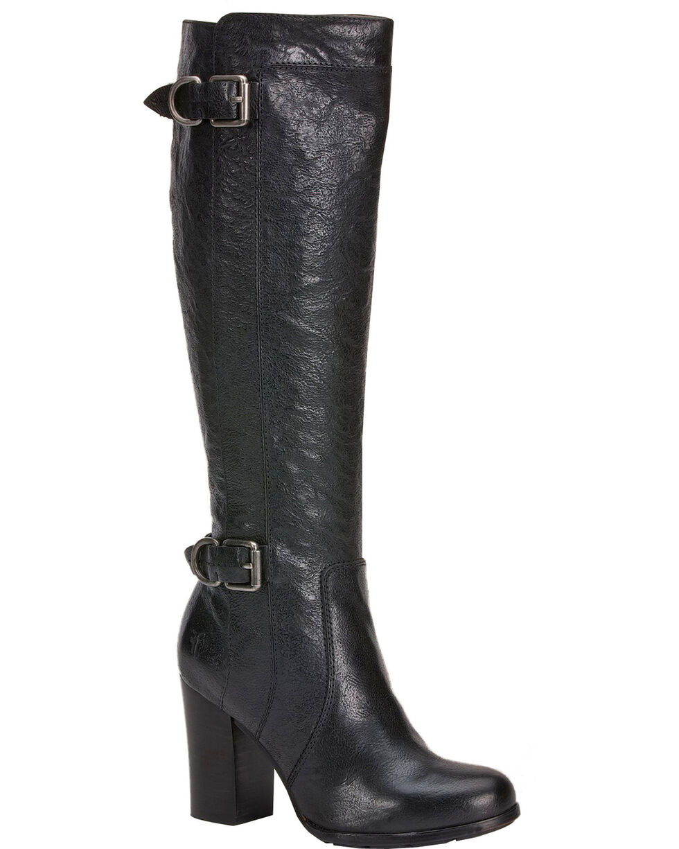 Frye Parker D-Ring Tall Riding Boots, Black, hi-res