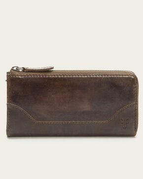 Frye Women's Melissa Zip Wallet, Slate, hi-res