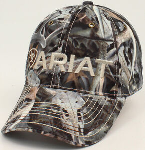 Ariat Men's Shield Bonz Cap, Camouflage, hi-res