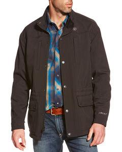 Ariat Men's Black Bozeman Softshell Jacket , Black, hi-res