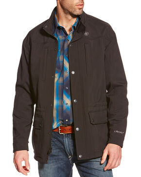 Ariat Men's Black Bozeman Softshell Jacket , Black, hi-res