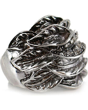Shyanne Women's Stretch Ring, Silver, hi-res