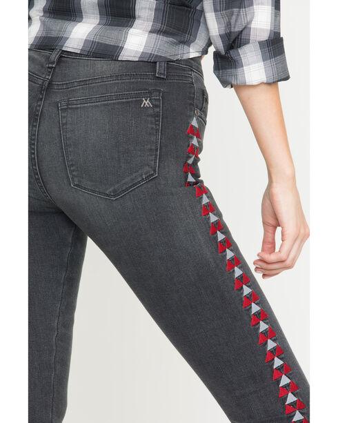 MM Vintage Women's Black Anais Skinny Jeans, Black, hi-res