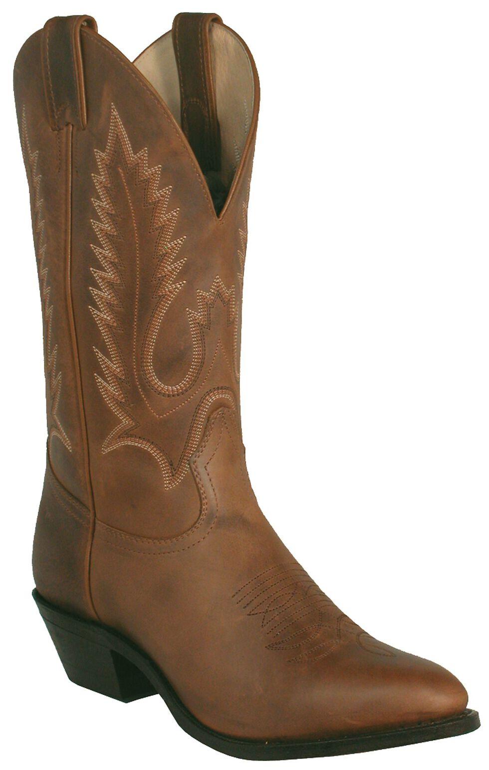 Boulet Rider Cowboy Boots - Medium Toe, Golden Tan, hi-res