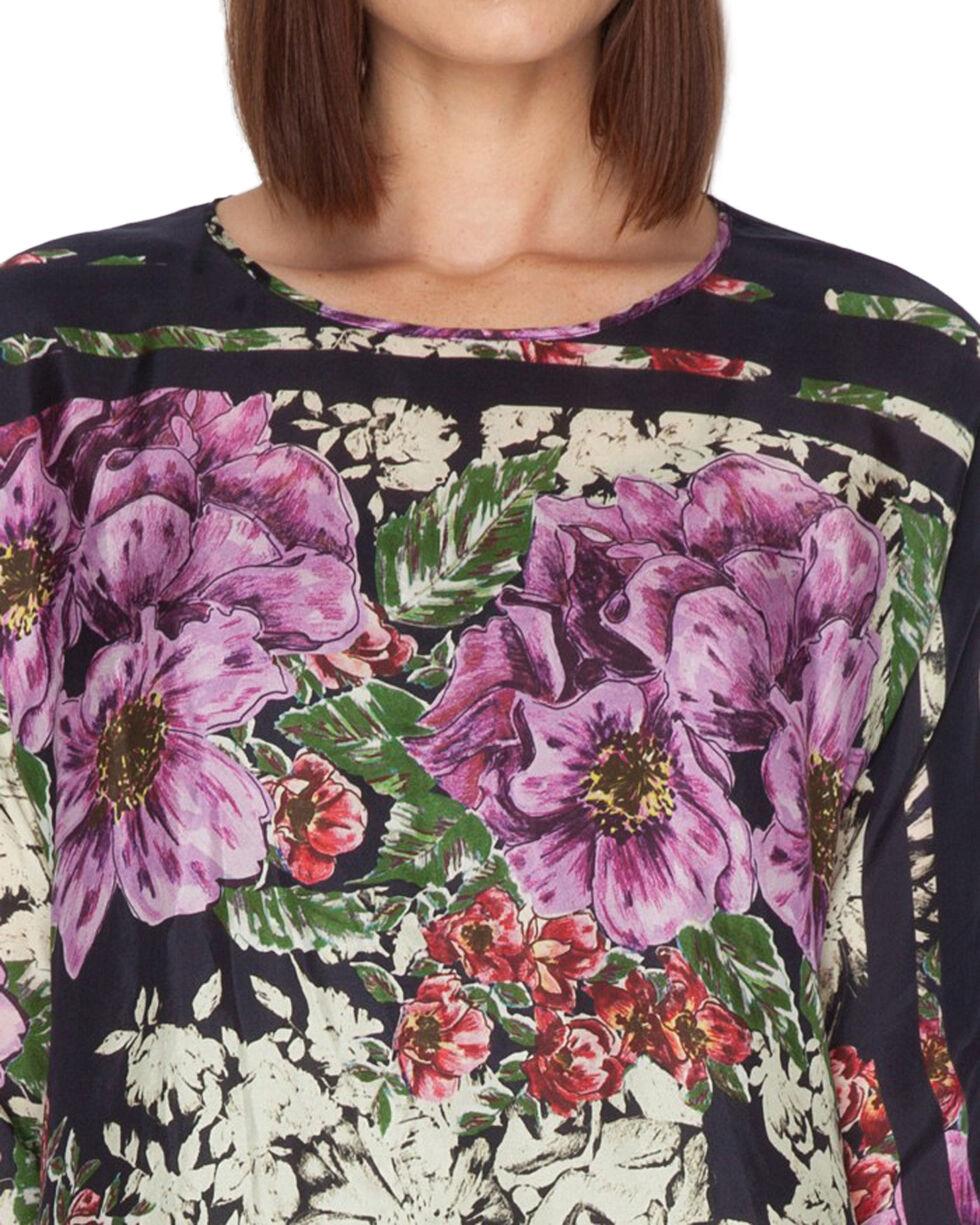 Johnny Was Women's Flower Dolman Blouse, Print, hi-res