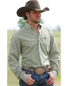 Cinch Men's Multi Long Sleeve Plain Weave Shirt , , hi-res