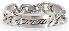 Cody James Men's Silver Chain Bracelet, , hi-res