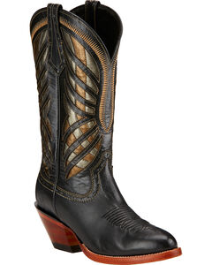 Ariat Gentry Performance Riding Boots - Round Toe , Black, hi-res