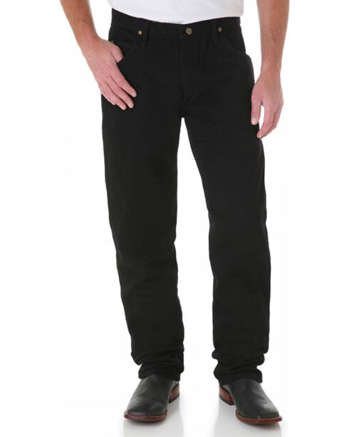 Wrangler Men's Premium Performance Cowboy Cut Jeans - Tall, Black, hi-res