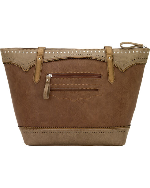 Bandana by American West Grand Junction Zip Top Tote w/Outside Pkts, , hi-res