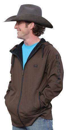 Cinch Men's Zip-Front Hooded Jacket, , hi-res