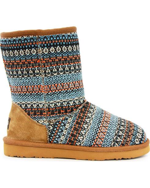 "Lamo Women's 9"" Juarez Boots, Light Blue, hi-res"