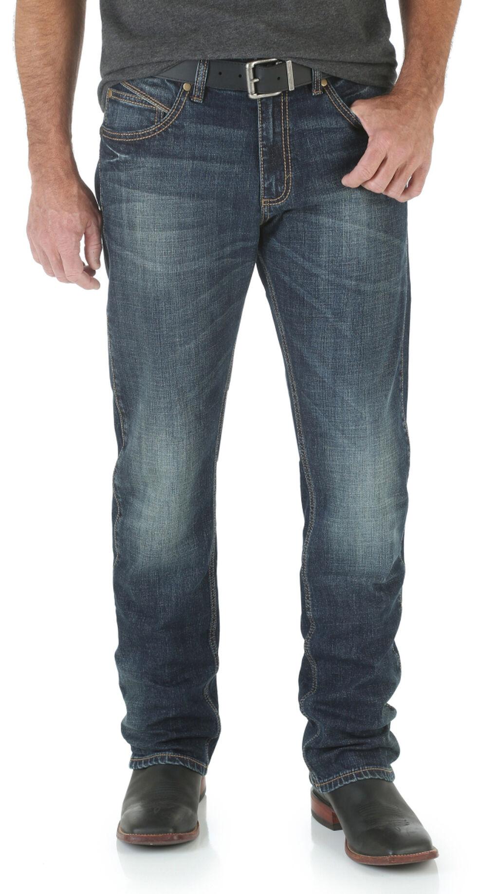 Wrangler Men's Retro Bozeman Slim Fit Straight Leg Jeans , Denim, hi-res