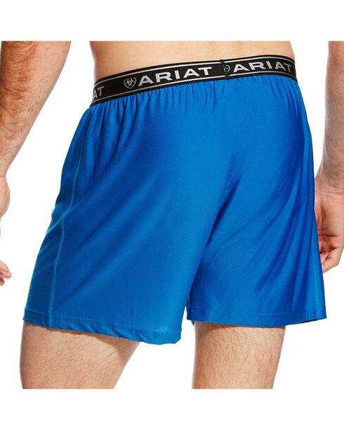 Ariat Men's Blue AriatTEK UnderTEK FreeFit Boxer , Blue, hi-res