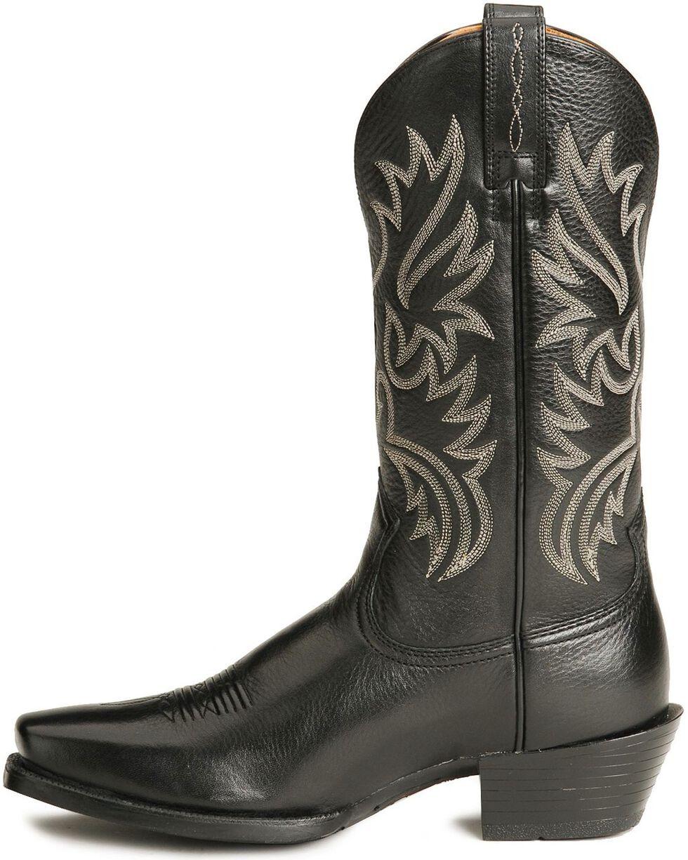 Ariat Legend Cowboy Boots - Square Toe, Black, hi-res