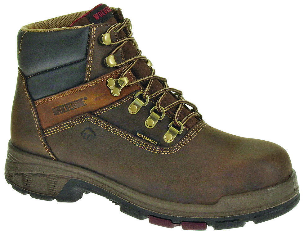 "Wolverine Cabor EPX PC Dry Waterproof 6"" Boots, Coffee, hi-res"
