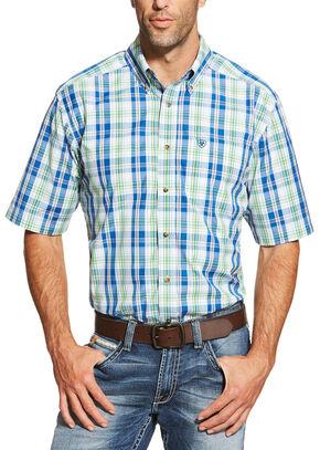 Ariat Men's Multi Brandon Short Sleeve Shirt, Multi, hi-res