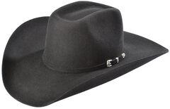 Larry Mahan 3X Terrell Wool Felt Cowboy Hat, Black, hi-res