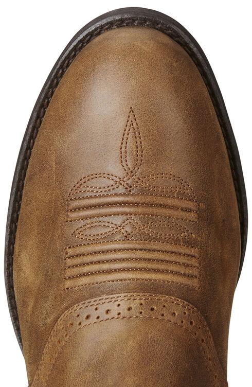 Ariat Men's Brown Heritage Hackamore Boots - Round Toe, Brown, hi-res