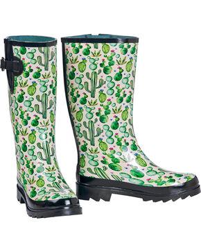 Blazin Roxx Women's Cactus Rain Boots , Multi, hi-res